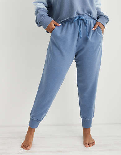 Aerie Fleece-Of-Mind Zip Jogger