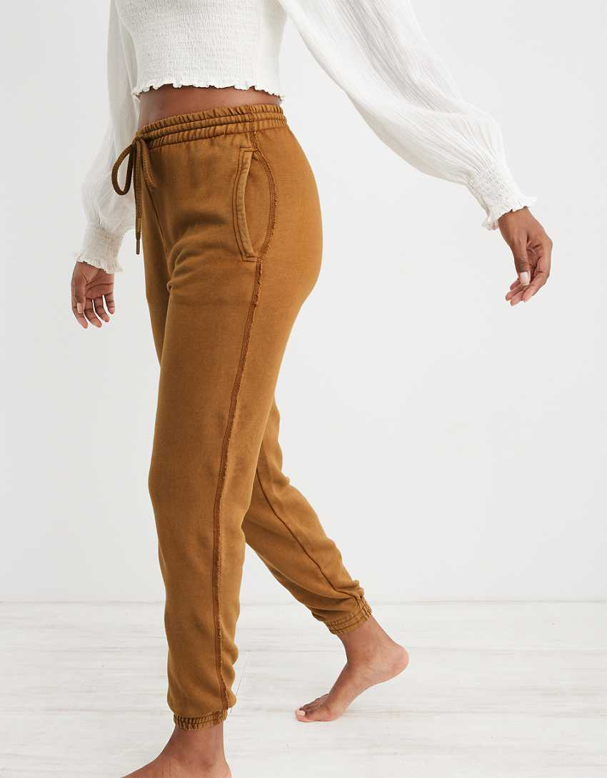 Aerie The Sweat Everyday Cozy High Waisted Jogger