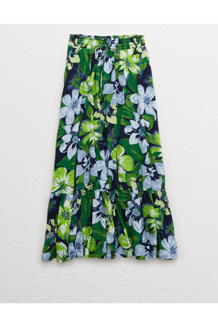 60s Skirts | 70s Hippie Skirts, Jumper Dresses Aerie Maxi Skirt Womens Navy XXL $24.97 AT vintagedancer.com