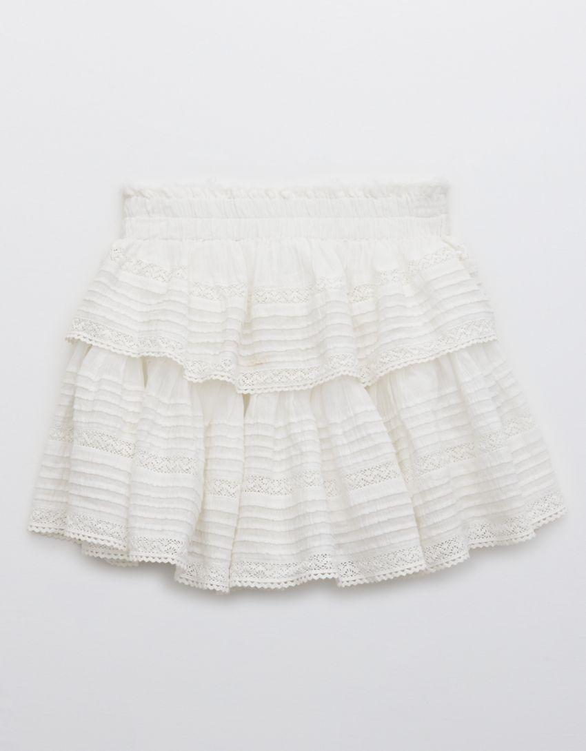 Aerie Rock 'n' Ruffle Mini Skirt
