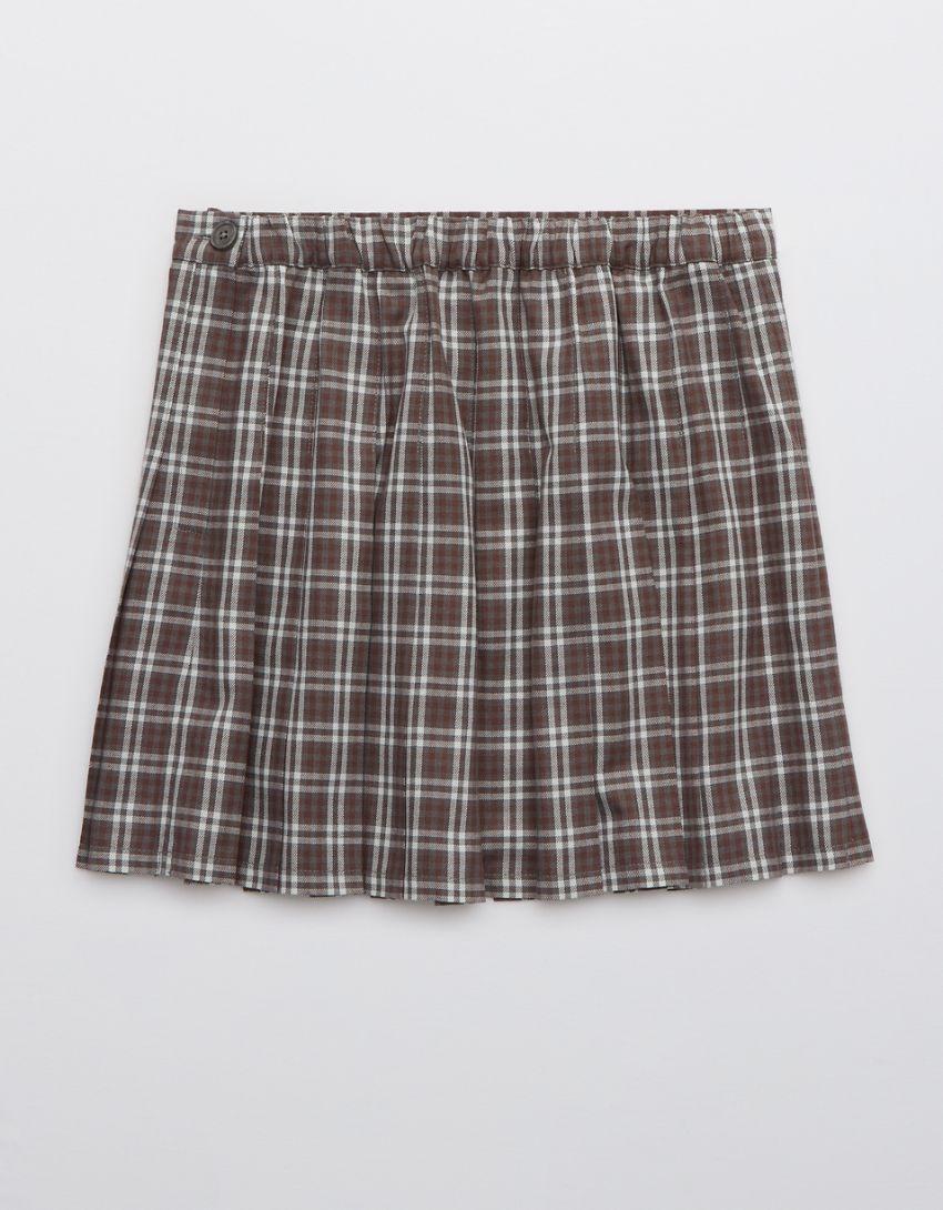 Aerie Class Act Pleated Skirt
