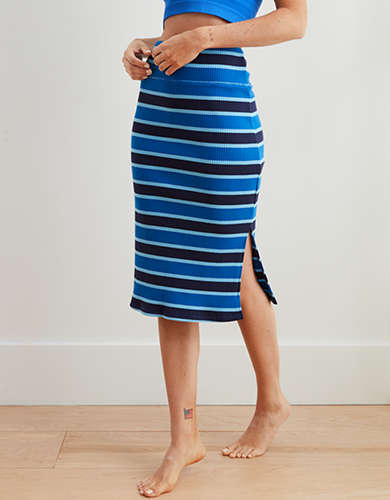 Aerie Ribbed Knit Skirt