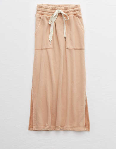 Aerie Sunday Soft Midi Skirt