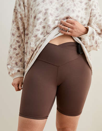 Aerie Real Me Wrap Bike Short