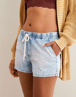 Aerie Denim Easy Short