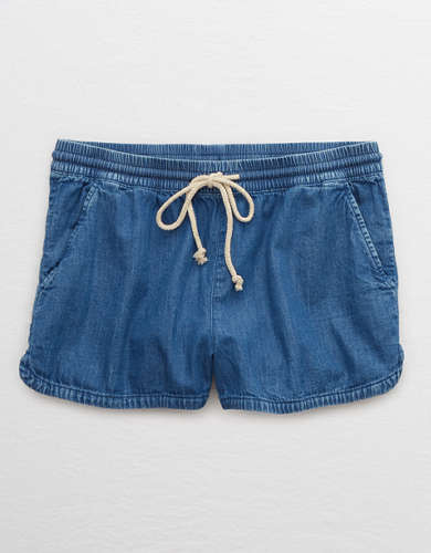 Aerie Chambray Short