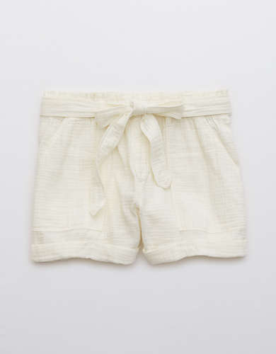 Aerie Camp Gauze Short