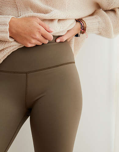 Aerie Play Shine High Waisted Legging