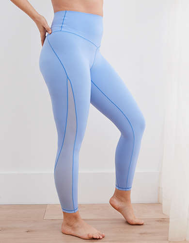 Aerie Real Me Mesh High Waisted 7/8 Legging