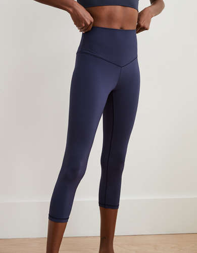 Aerie Real Me Cropped High Waisted Legging