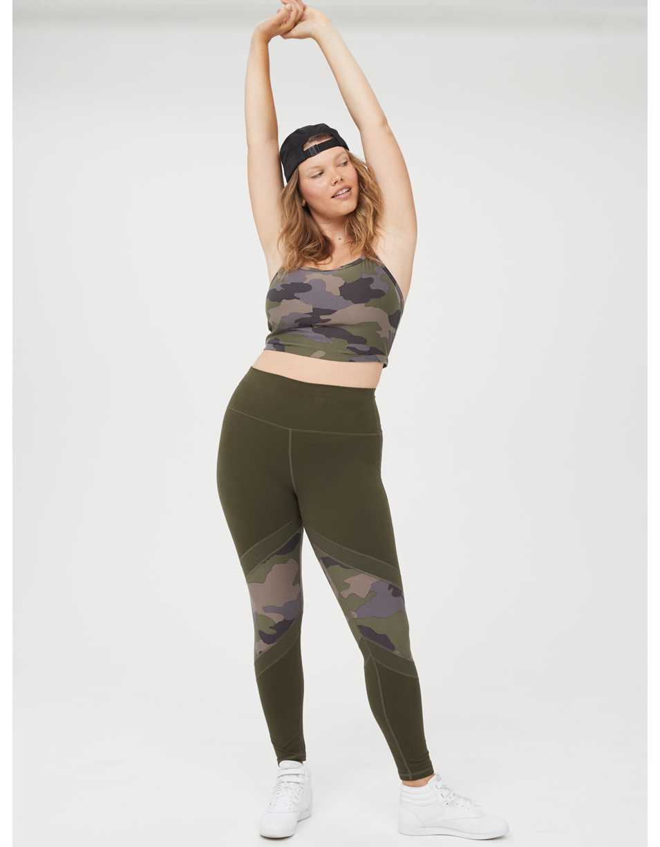 OFFLINE The Hugger High Waisted Ribbed Legging
