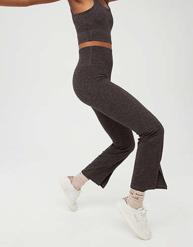 OFFLINE The Hugger High Waisted Cropped Flare Pant