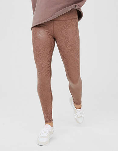 OFFLINE The Hugger High Waisted Crackle Legging