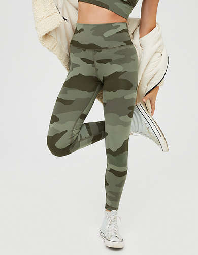 OFFLINE Camo High Waisted Legging