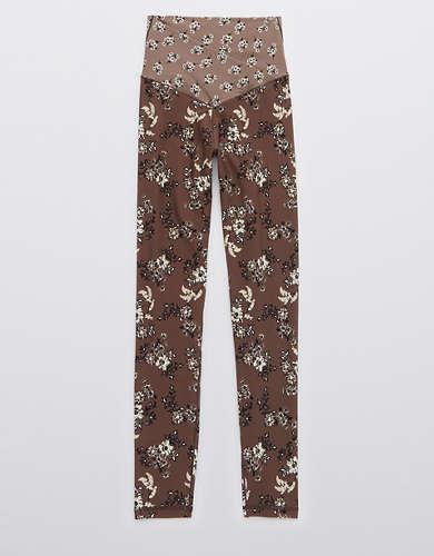 OFFLINE Real Me High Waisted Floral Crossover Legging