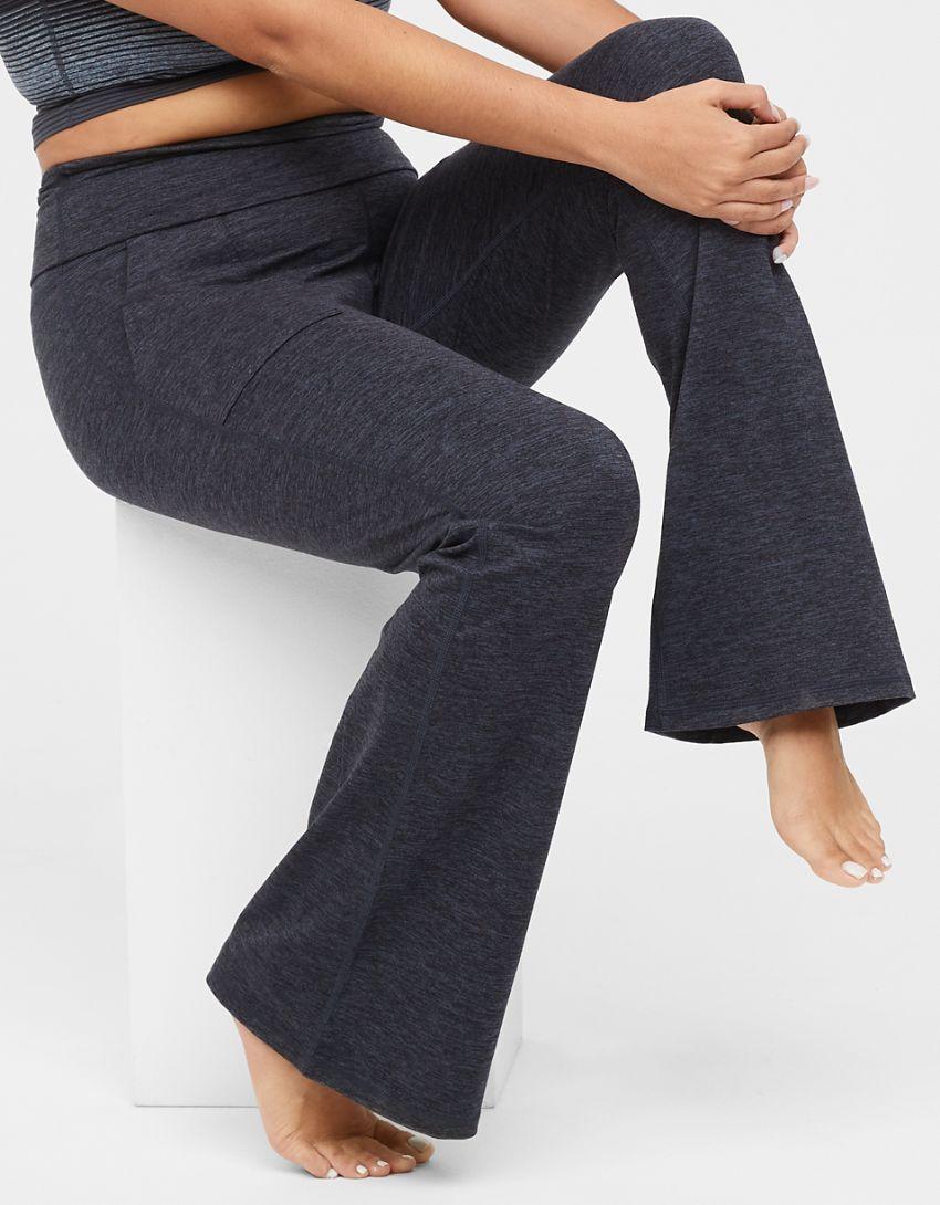 OFFLINE The Hugger High Waisted Foldover Flare Legging