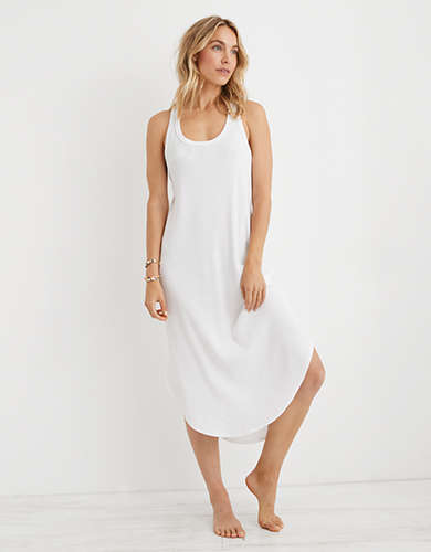 Aerie Ribbed Midi Cover Up