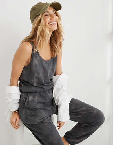 Aerie Everyday Tie Dye Jumpsuit