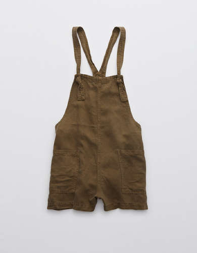 Aerie Twill Knot Shortall