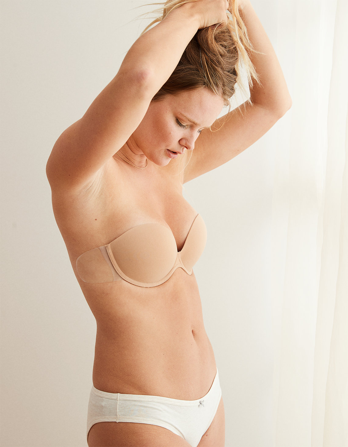 a534cd127a10b Aerie Backless Pushup Bare Bra. Placeholder image. Product Image