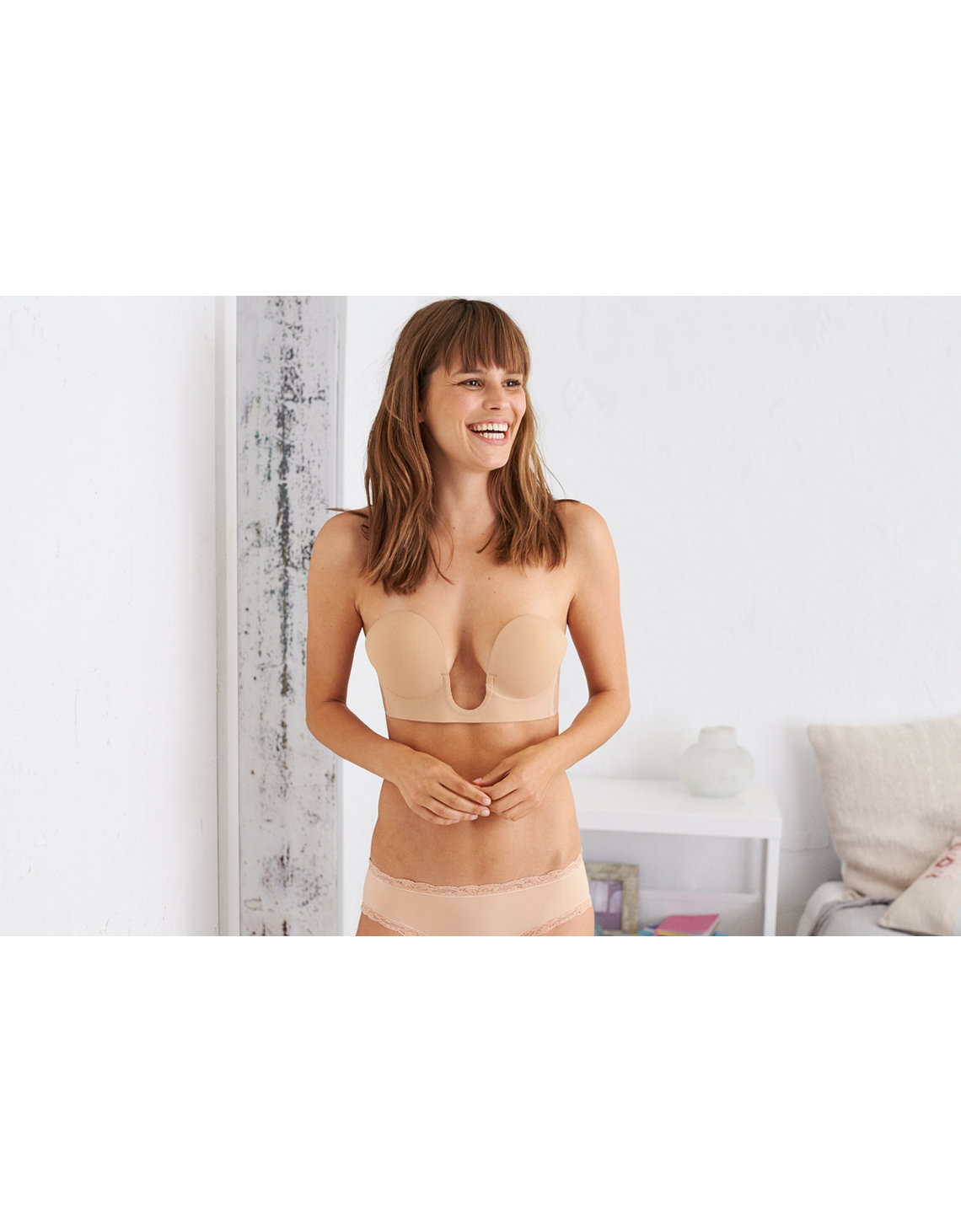 f0d0d6da79315 Aerie Backless U Plunge Bare Bra. Placeholder image. Product Image