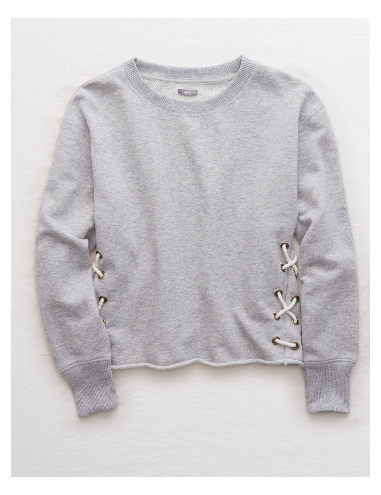 Aerie Lace-Up Side Sweatshirt