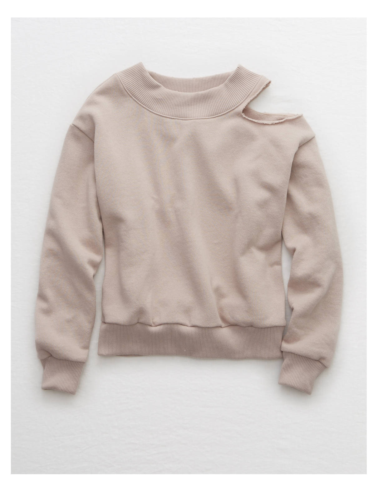 Display product reviews for Aerie Cutout Sweatshirt