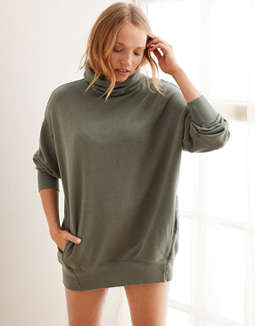 Aerie Turtleneck Sweatshirt