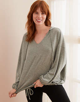 Aerie Real Soft® Drapey Hoodie