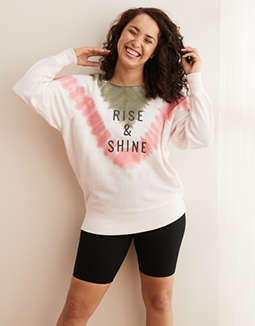 Aerie Tie Dye Camp City Sweatshirt
