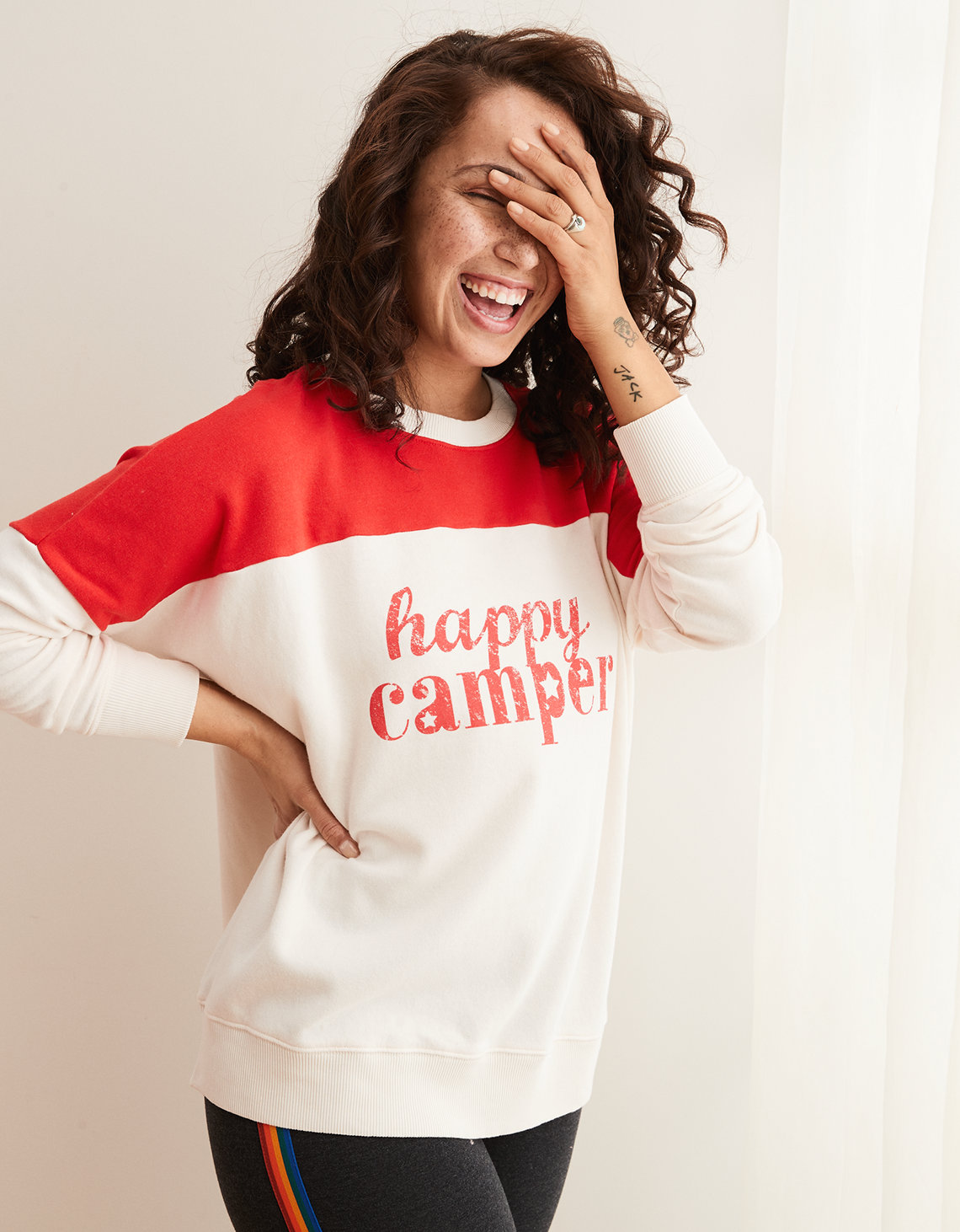 Aerie Happy Camper Sweatshirt