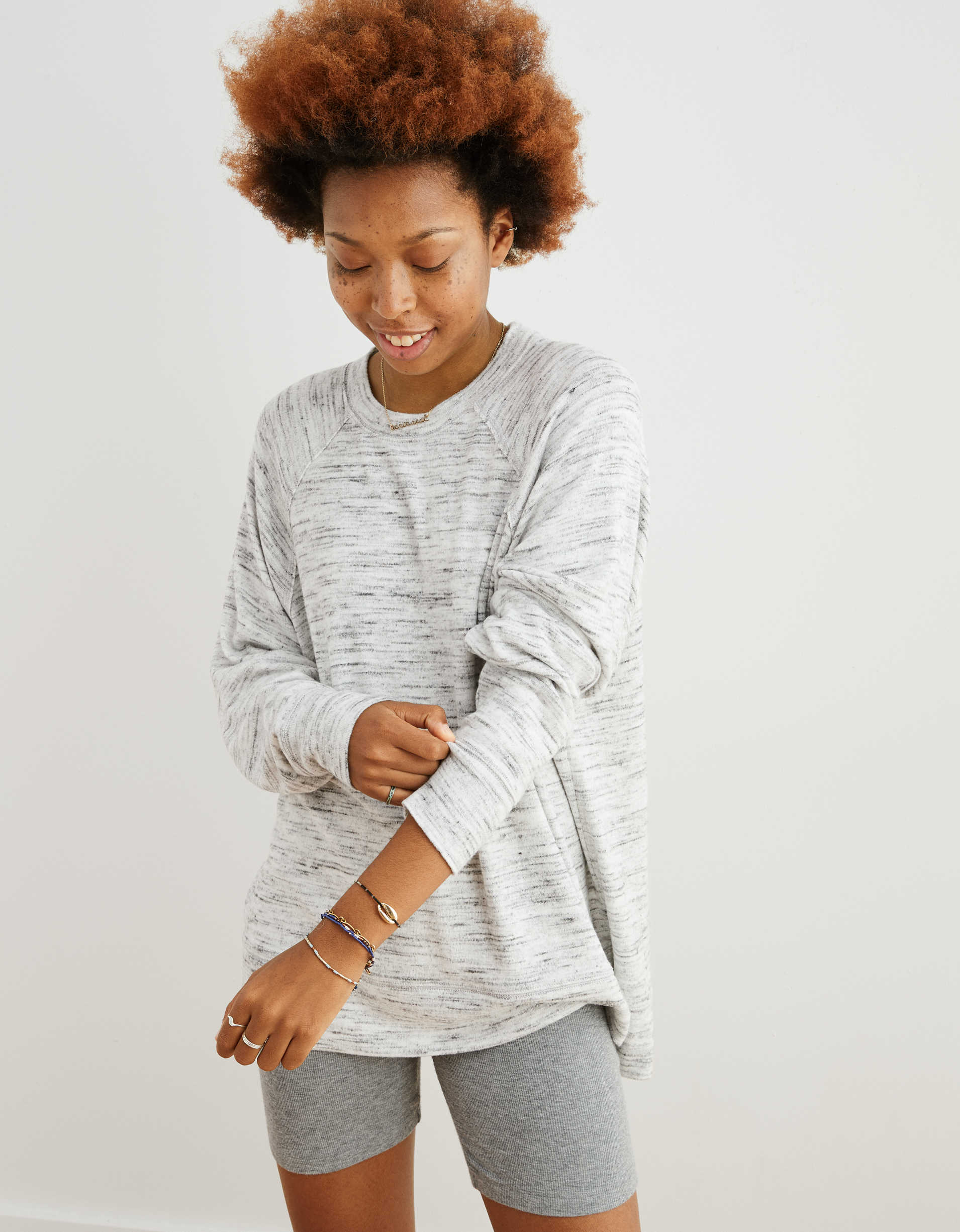 Aerie Oversized Plush Sweatshirt