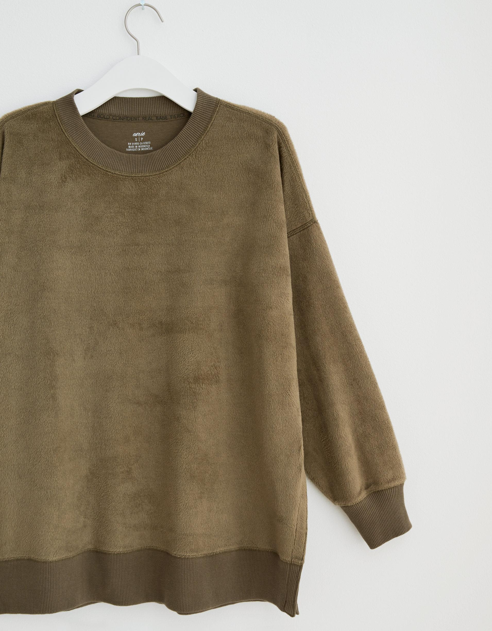 Aerie Oversized Coziest Desert Sweatshirt