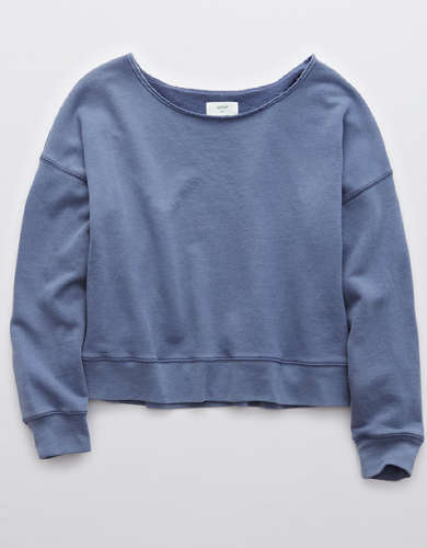 Aerie Sandy Fleece Sweatshirt