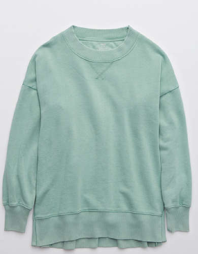 Aerie Good Vibes Oversized Sweatshirt