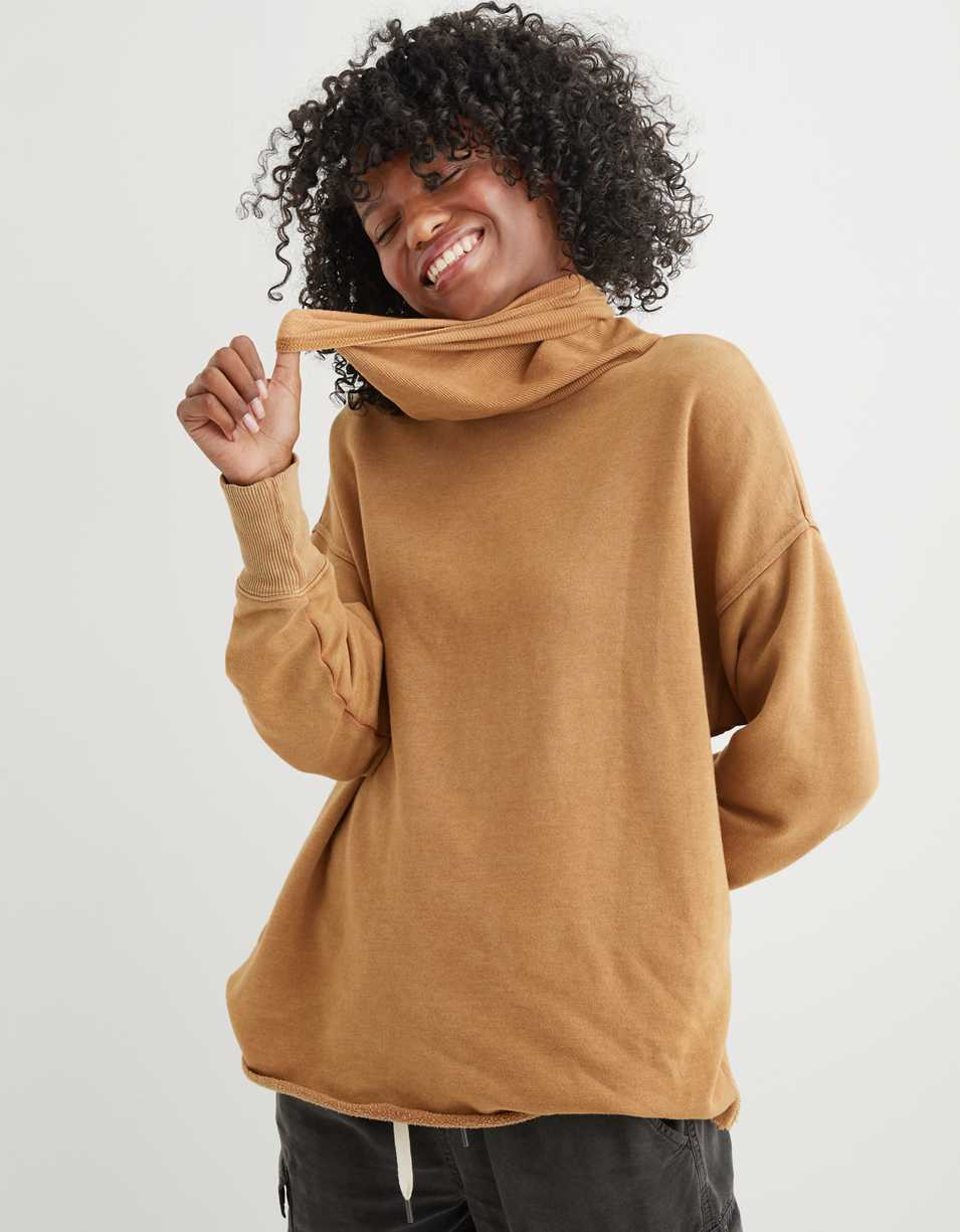 Aerie Fleece Turtleneck