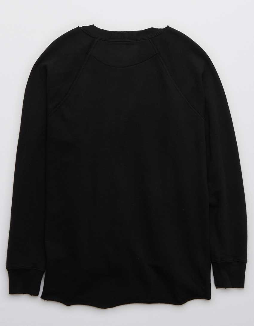 Aerie Everyday Kickback Crew Neck Sweatshirt