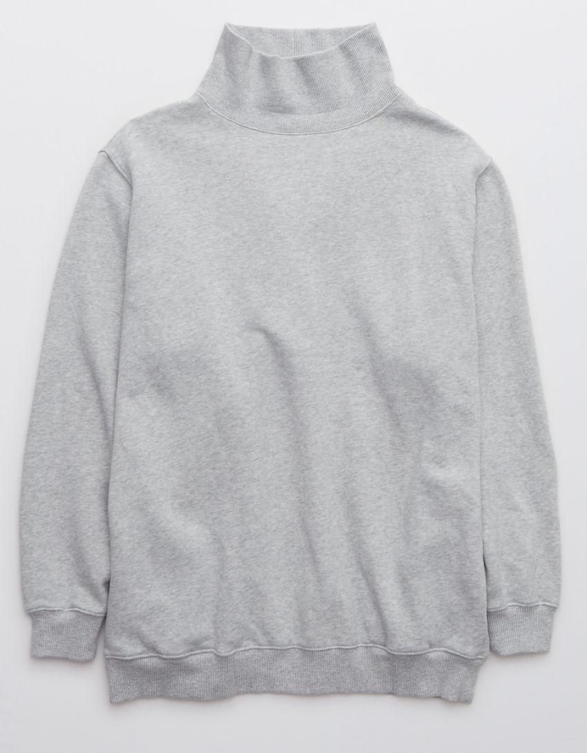 Aerie The Sweat Everyday Turtleneck Sweatshirt