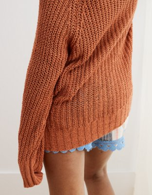 Aerie Crew Pullover Sweater by American Eagle Outfitters