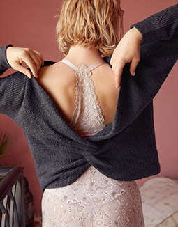 Aerie Twist Back Sweater