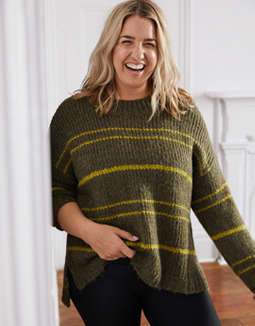 Aerie Fuzzy Feels Sweater
