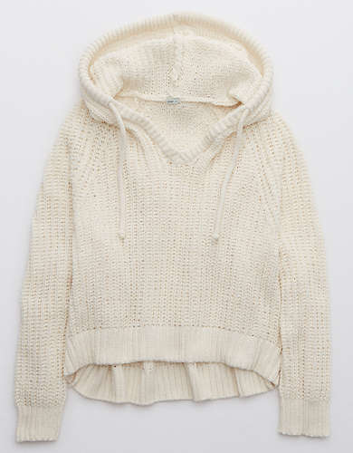 Aerie Ribbed Chenille Hoodie