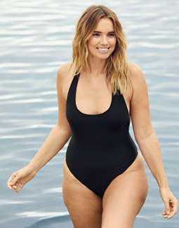 "Aerie ""THE ONE"" Piece Racerback Swimsuit"