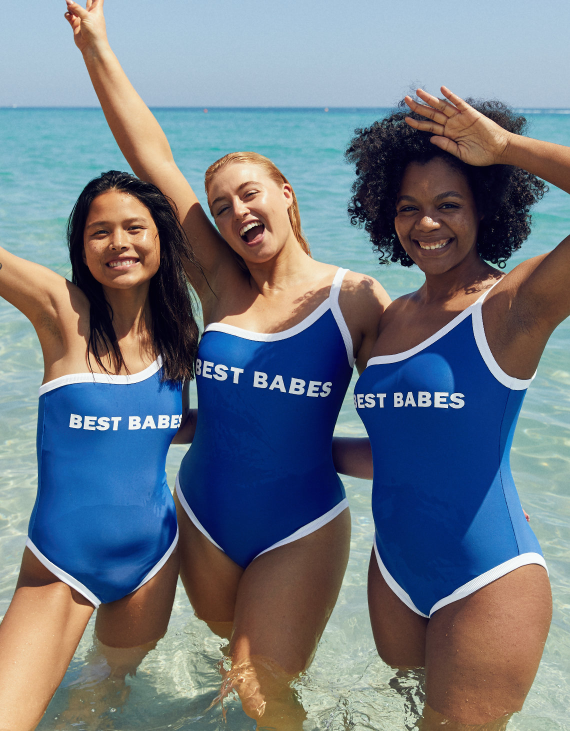 Aerie Pop One Shoulder One Piece Swimsuit