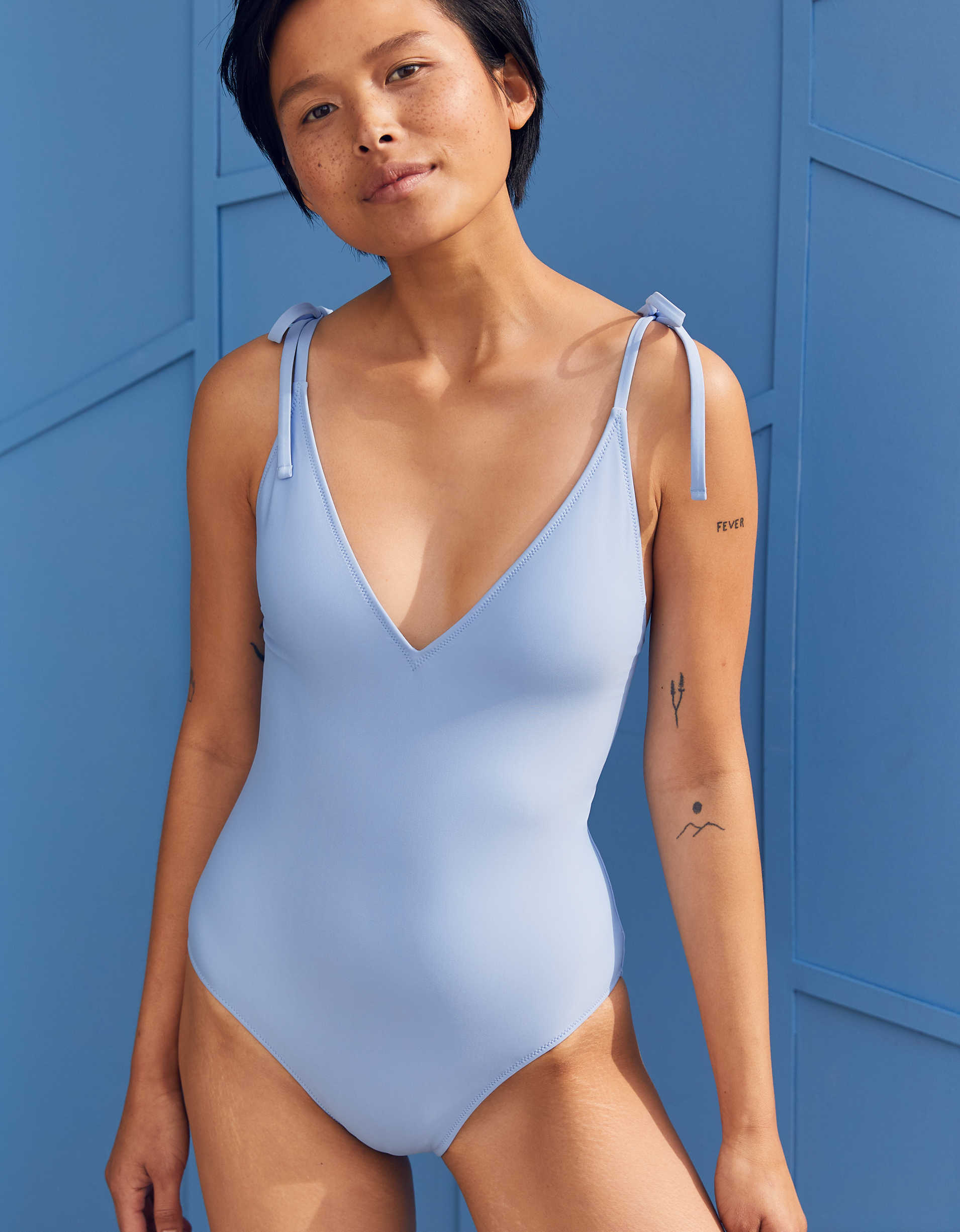 Aerie V One Piece Swimsuit
