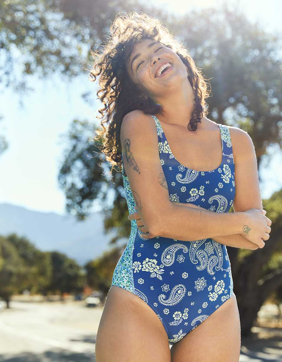 Aerie Scoop One Piece Swimsuit