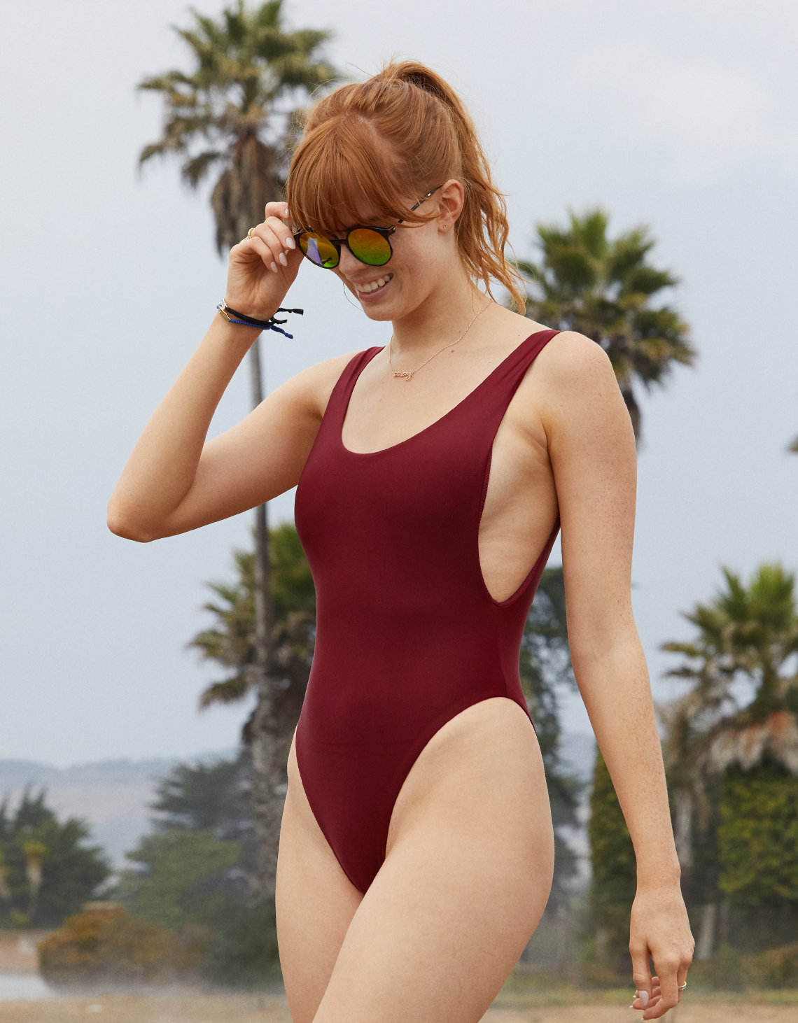 05ad27b47fdbd Aerie Super Scoop One Piece Swimsuit. Placeholder image. Product Image