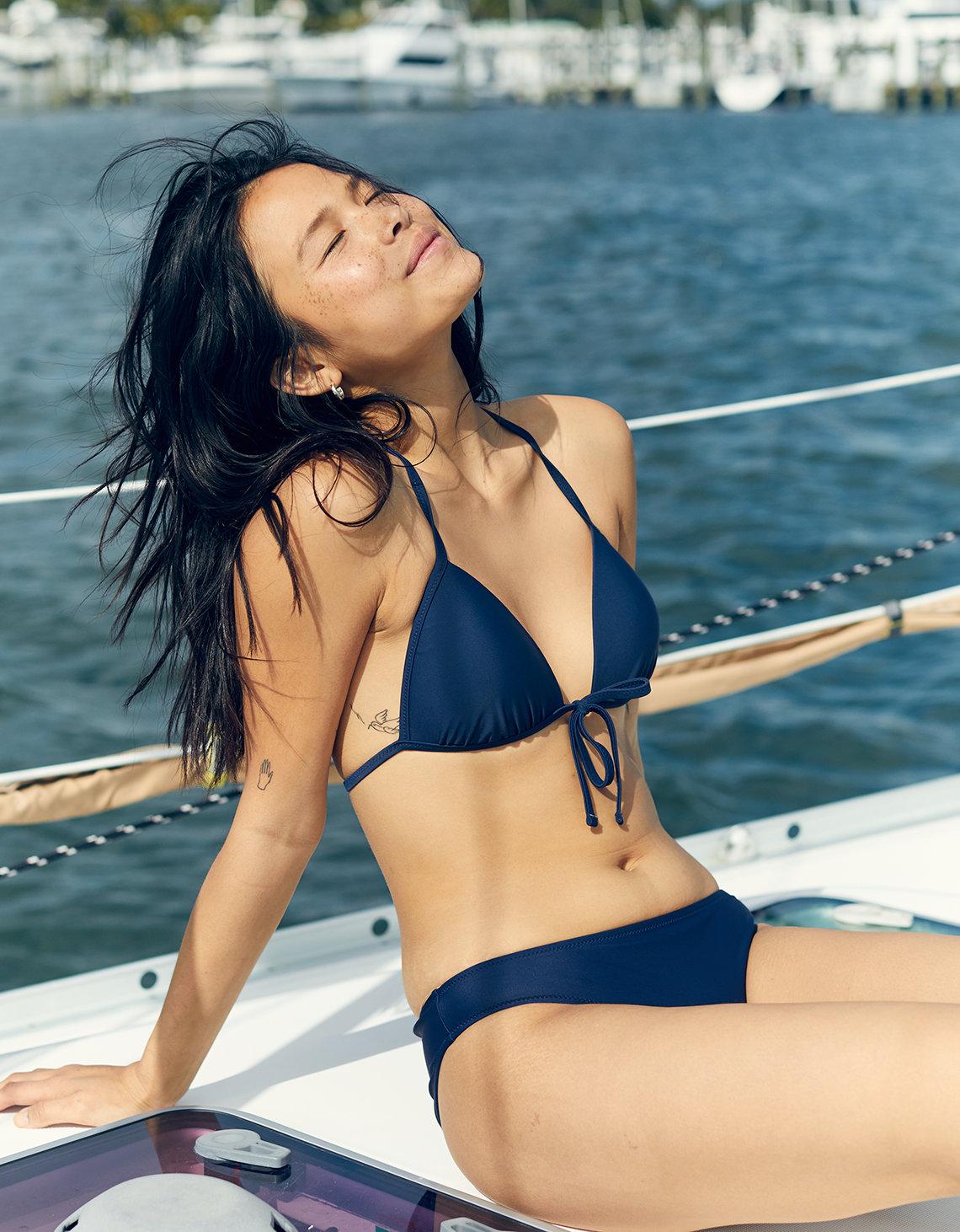 181fcd6cca870 Aerie Perky Triangle Bikini Top