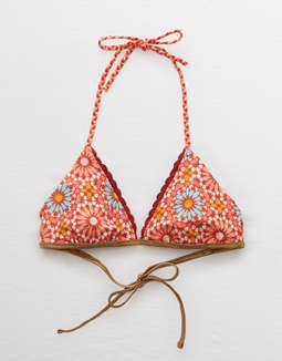 Aerie Inside or Out Triangle Bikini Top