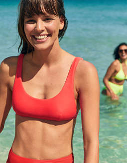Aerie Side Scoop Bikini Top